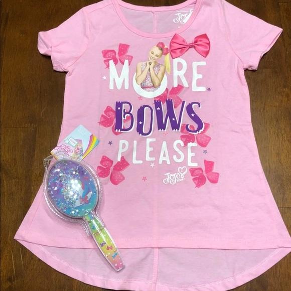 1786a9248a4ee Jojo Siwa T-shirt and Brush Set